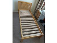 Solid Wood Single ( Shorty ) Bed Frame