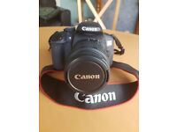 Canon eos 650 d camera with canon efs 18-55 lenz
