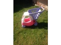 Little tikes trolley pink