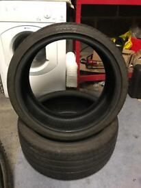 2X Pirelli P-zero tyres
