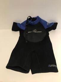 Billabong childs wetsuit