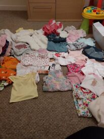 Baby girls bundle 0-3 months. New with tags or worn once