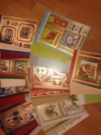 Hunkydory Christmas kits and card stock
