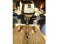 Outboard Engine Honda BF 5hp 4 Stroke 2010