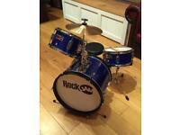 RockJam 3-piece Junior Drum Kit (Great starter Kit!)