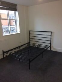 *BLACK DOUBLE BED * *CHEAP*