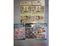 Bundle of Arts Crafts Scrapbook Stickers and Tags IP1