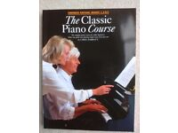 'The Classic Piano Course' for older beginners, Omnibus edition: Books 1, 2 & 3 by Carol Barratt