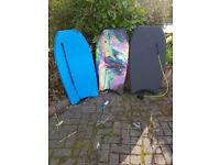 Body Boards (Three)
