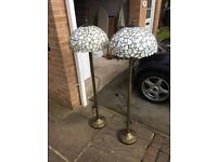 2 x Standard Lamps for Sale