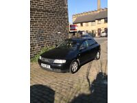 2001 Audi A3 1.9tdi 6 speed. 130bhp, Tow bar, Mot 23/04/2019