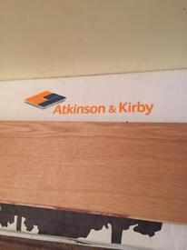 Atkinson & Kirby oak flooring - left over from recent refurb