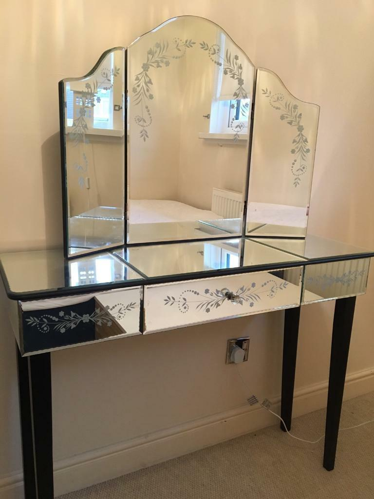 Laura Ashley dressing table and mirror