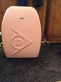 Dunlop pink suitcase