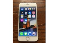 Iphone 6 silver 16 GB unlocked