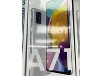 Samsung galaxy A71 128gb brand new box