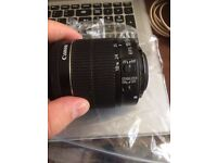 Canon EF-S Zoom Lens for Canon EF-S - 18-55mm - F/3.5-5.6 - (1156)
