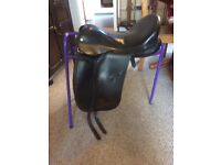 17 inch Jessica ideal saddle. Black. Wide. Vgc