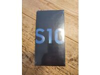 SAMSUNG S10 new and boxed