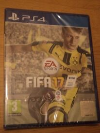 FIFA 17 PS4 BRAND NEW Sealed & Tom Clancy's Ghost Recon Wildlands& controller brand new all sealed