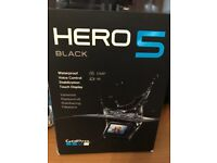 Go Pro Hero 5 Black Edition plus Accessories