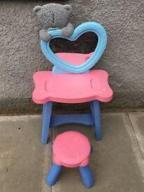 Tatty Teddy toy dressing table set