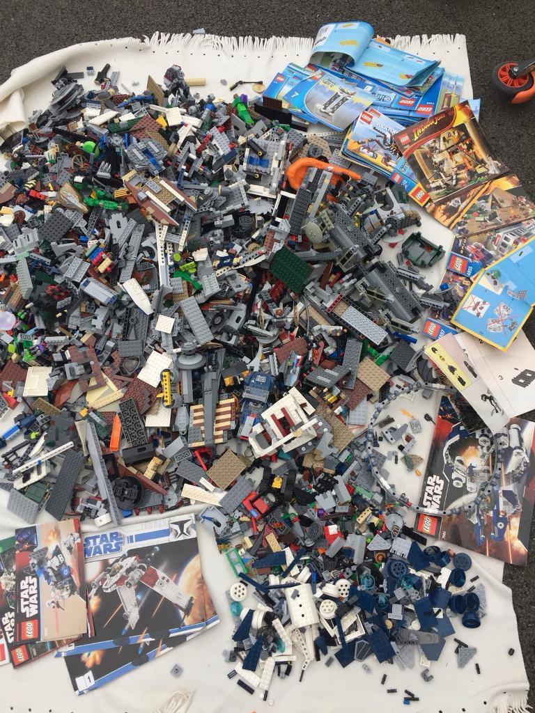 Lego StarWars and figures Huge amount