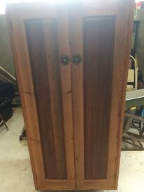 Gentlemans small wardrobe. A cute wee piece suitable for upcycling or lovely as it is