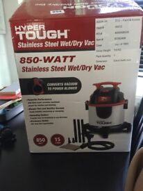 Hyper Tough stainless steel wet/dry Vac
