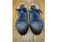 NEXT girls trainers - size 13.