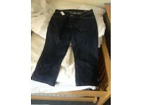 JOHN ROCHA NEW THREE QUARTER LENGTH JEANS