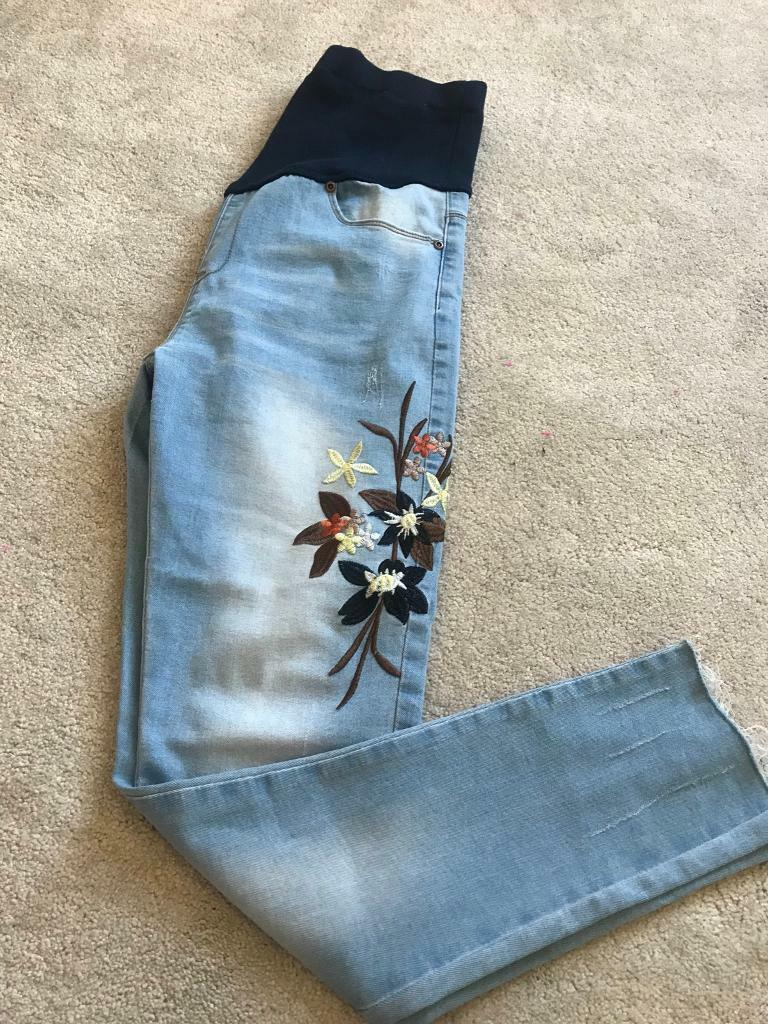 0f9a30464af31 Boohoo Maternity Jeans, size 10 | in Eastleigh, Hampshire | Gumtree