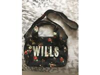 Jack Wills Floral Canvas Bag £15 Ono