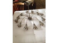 12 light Chandelier for dining or living room