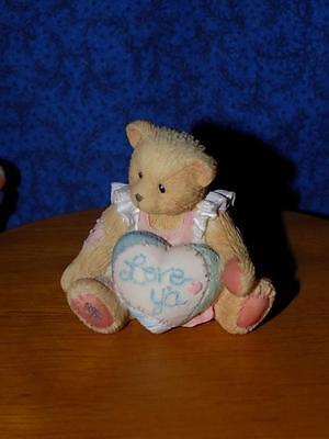"""Cherished Teddies Priscilla Hillman 'LOVE YA"""" Tiny Bear"""