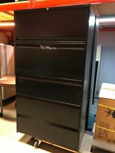 5 Drawer Lateral Filing Cabinets - Full Pull Handles - $325