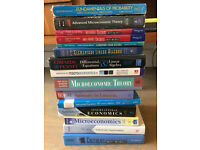 Economics mathamatics statistics textbooks