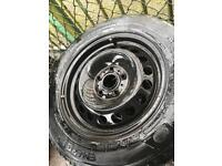 Vw golf wheels and good tyres