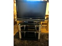 """AKURA 32"""" LCD/HD/FREEVIEW TV with TV UNIT"""