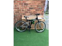 "Men's 26"" dual suspension 18 speed mountain bike NEW"