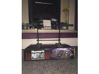 Numark DJ Controller - Party Mix (includes Laptop Holder)