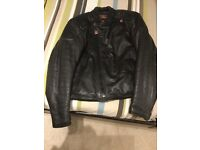 Yes Leathers, Heavy motorcycle jacket, circa 80's