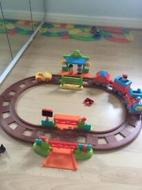 Happyland toy train - early learning centre
