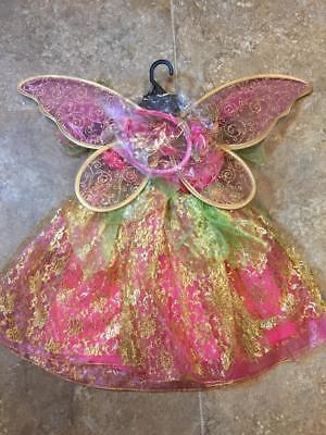 Gorgeous Rose Gold SPRITE FAIRY ~ Halloween Costume ~ Toddler 3  3T  ~ NWT](Fairy Halloween Costumes Toddler)