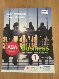 Business Textbook AQA Year 1 And AS - John Wolinski