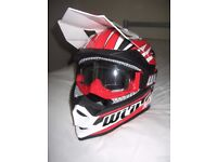 Motor Cycle / Motocross Helmet, Goggles and Gloves