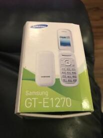 Brand new in box samsung GT-E1270