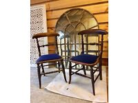 Victorian Rosewood Pair of occasional chairs