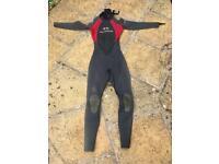 Women's Alder wetsuit 3,2 size 10 tall