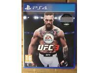 UFC 3 PS4 NEW